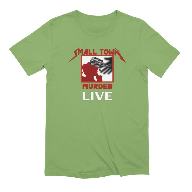 Small Town Murder Live - Metallica Men's Extra Soft T-Shirt by True Crime Comedy Team Shop