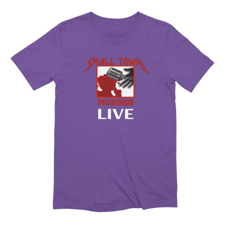 Small Town Murder Live - Metallica Men's Extra Soft T-Shirt by True Crime Comedy Team Shop