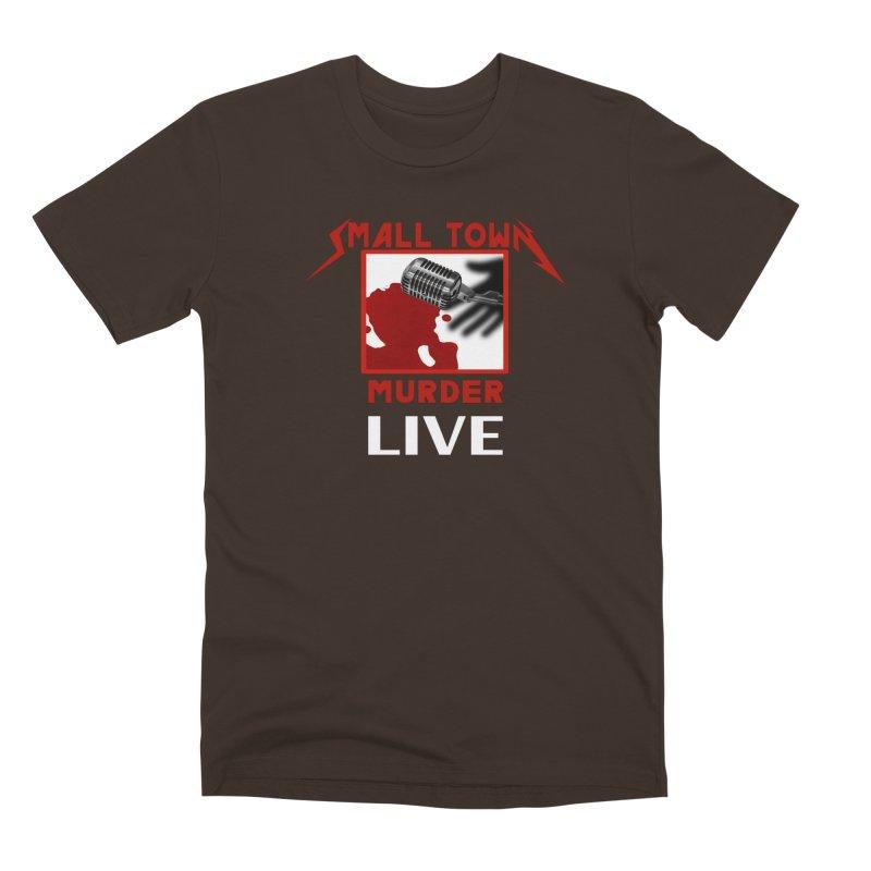 Small Town Murder Live - Metallica Men's Premium T-Shirt by True Crime Comedy Team Shop