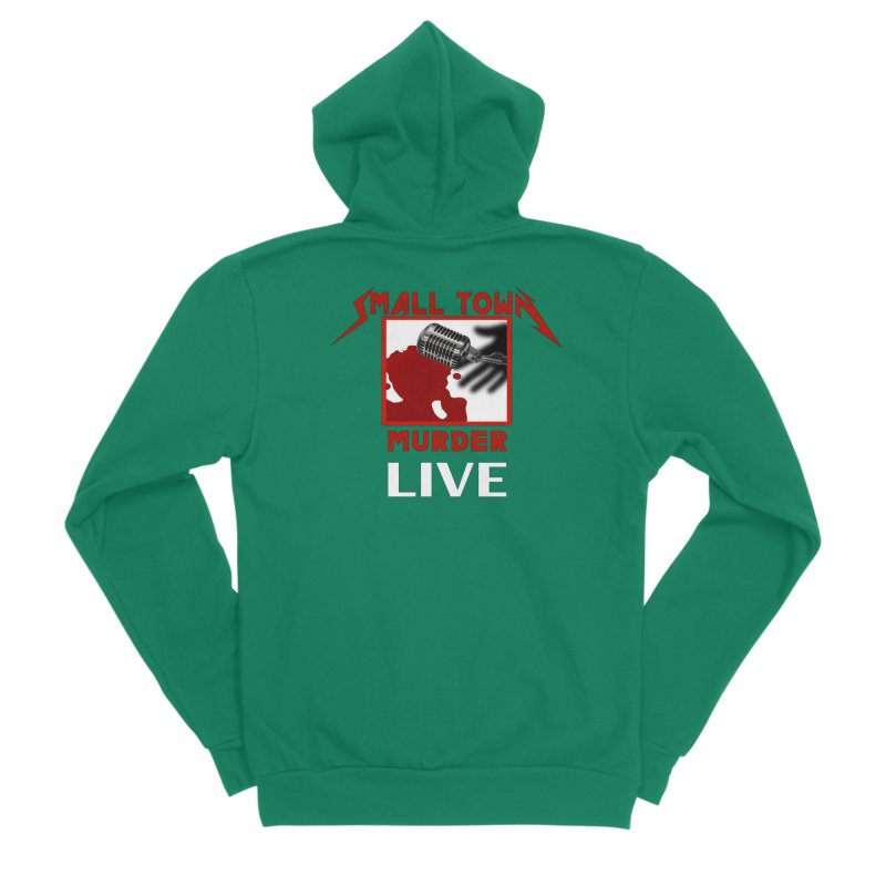 Small Town Murder Live - Metallica Men's Sponge Fleece Zip-Up Hoody by True Crime Comedy Team Shop