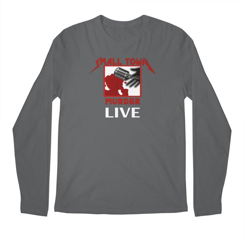 Small Town Murder Live - Metallica Men's Regular Longsleeve T-Shirt by True Crime Comedy Team Shop