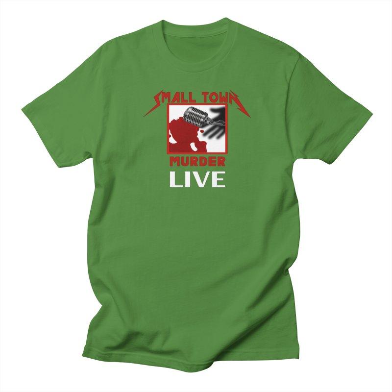 Small Town Murder Live - Metallica Men's Regular T-Shirt by True Crime Comedy Team Shop