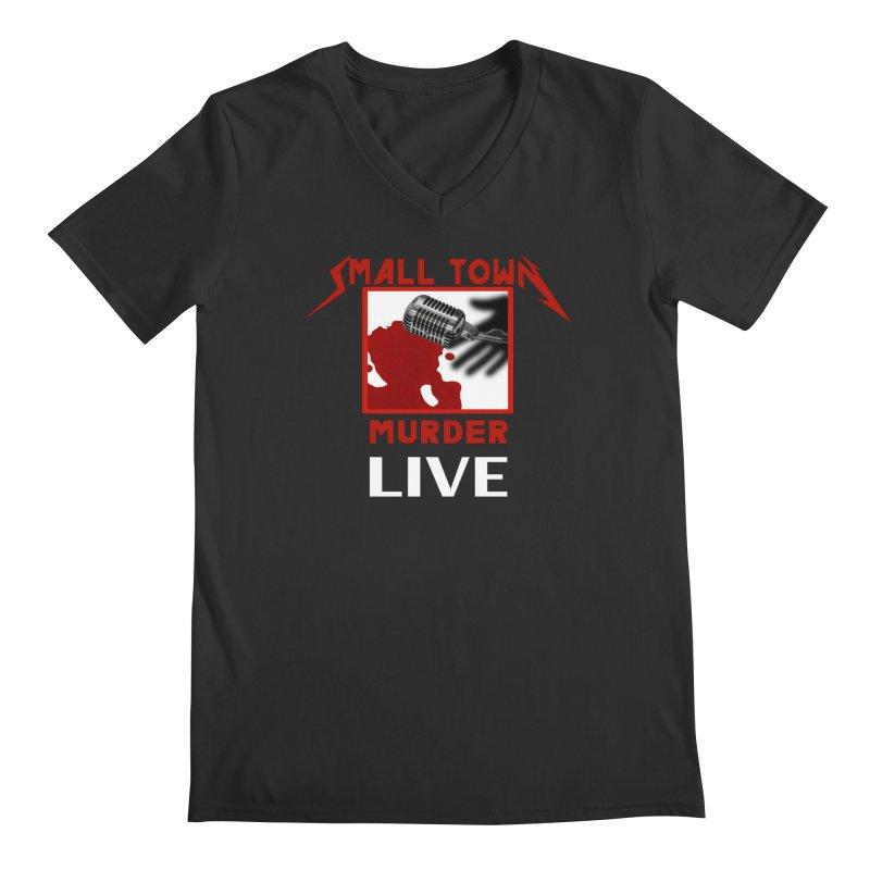 Small Town Murder Live - Metallica Men's Regular V-Neck by True Crime Comedy Team Shop