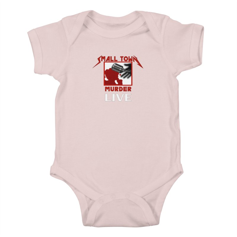 Small Town Murder Live - Metallica Kids Baby Bodysuit by True Crime Comedy Team Shop