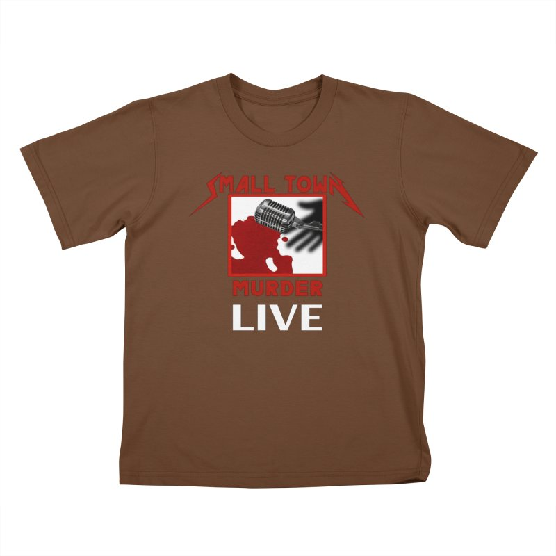 Small Town Murder Live - Metallica Kids T-Shirt by True Crime Comedy Team Shop