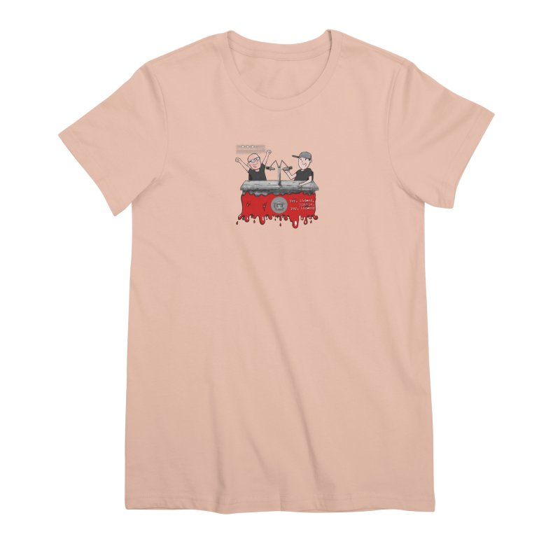 Yay, Indeed, Jimmie. Women's Premium T-Shirt by True Crime Comedy Team Shop