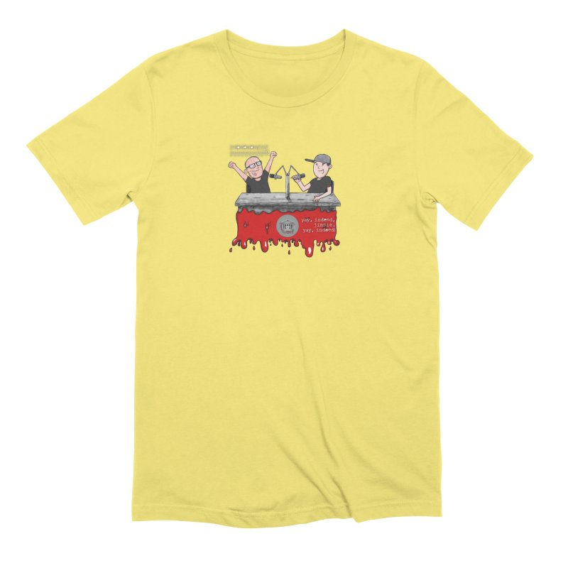 Yay, Indeed, Jimmie. Men's Extra Soft T-Shirt by True Crime Comedy Team Shop