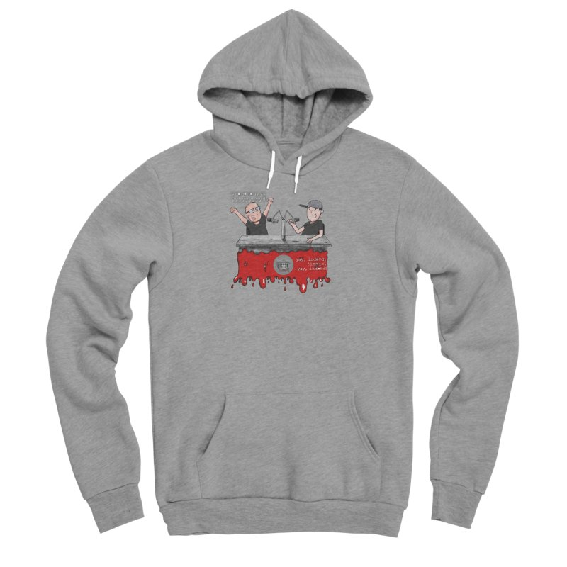 Yay, Indeed, Jimmie. Men's Sponge Fleece Pullover Hoody by True Crime Comedy Team Shop