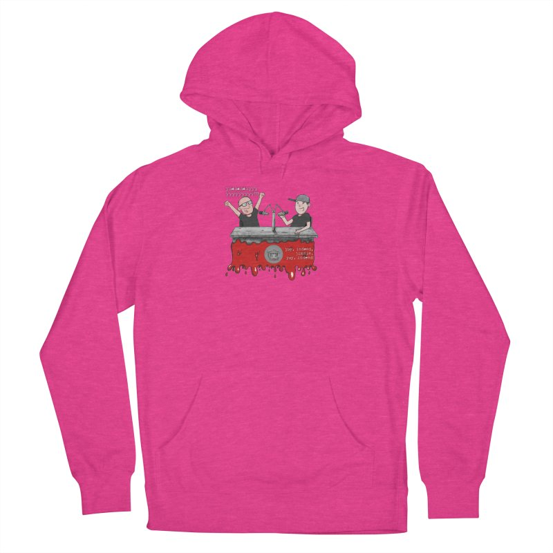 Yay, Indeed, Jimmie. Women's French Terry Pullover Hoody by True Crime Comedy Team Shop