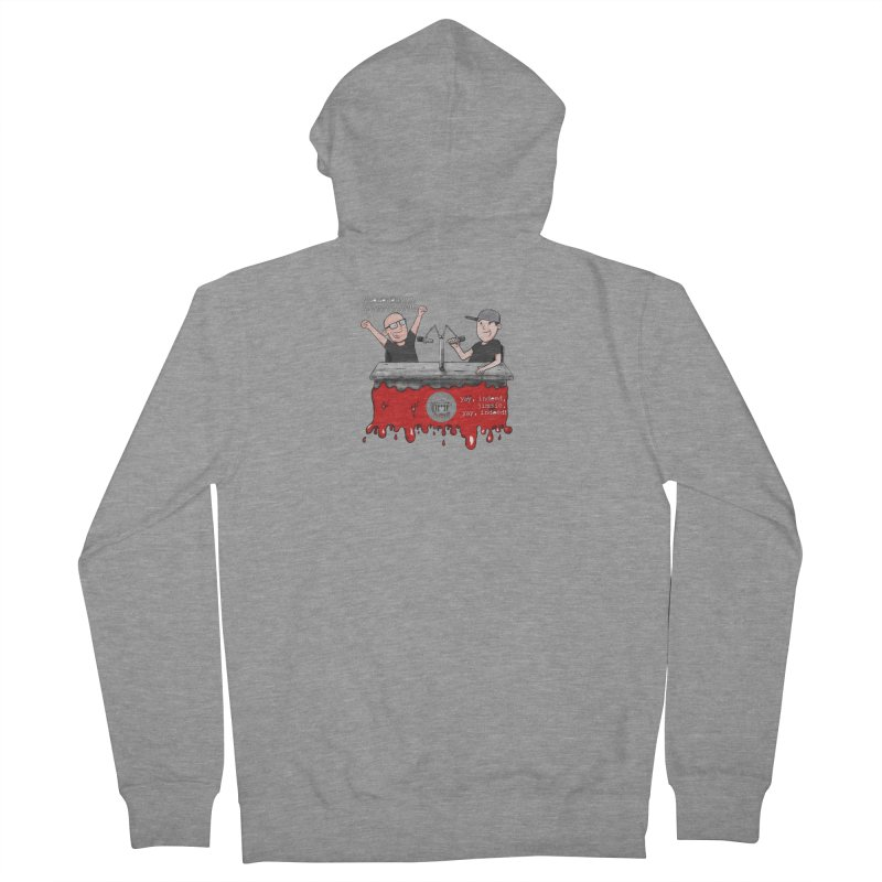 Yay, Indeed, Jimmie. Men's French Terry Zip-Up Hoody by True Crime Comedy Team Shop
