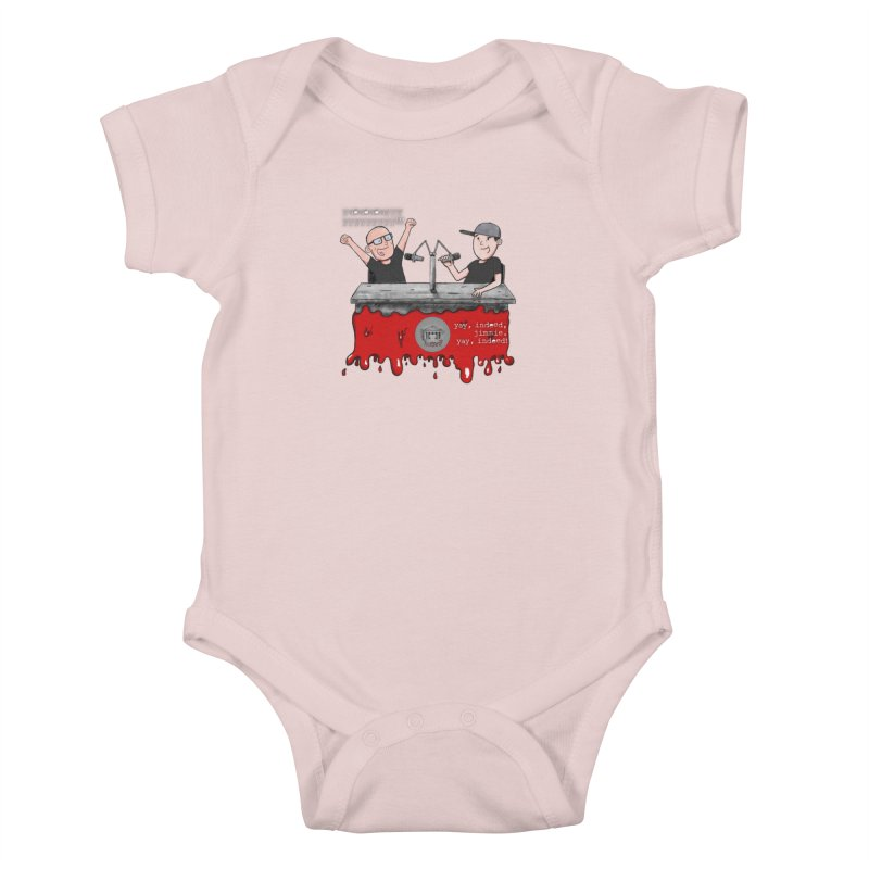 Yay, Indeed, Jimmie. Kids Baby Bodysuit by True Crime Comedy Team Shop