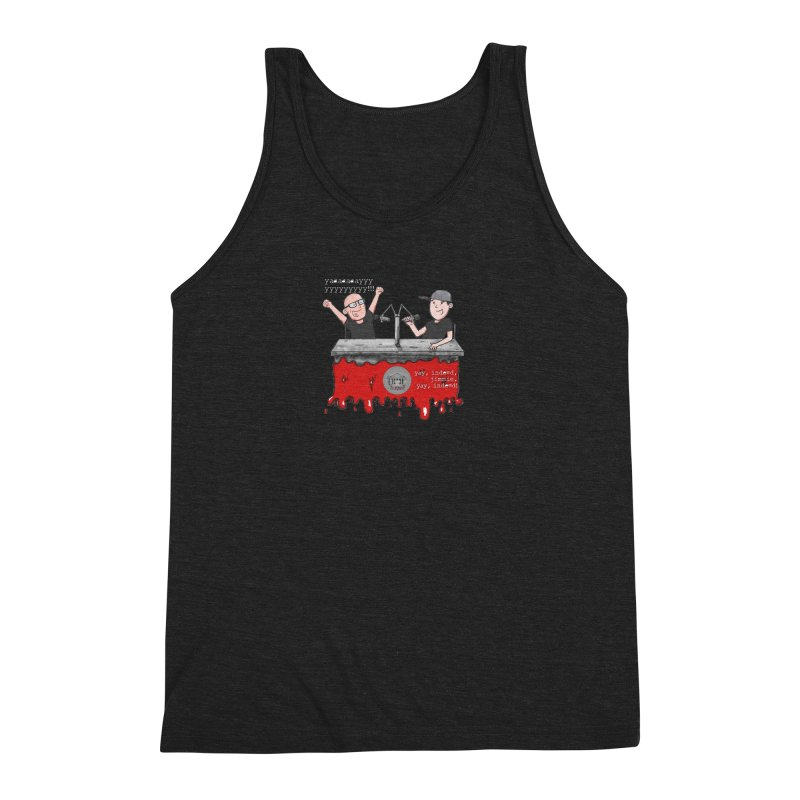 Yay, Indeed, Jimmie. Men's Triblend Tank by True Crime Comedy Team Shop