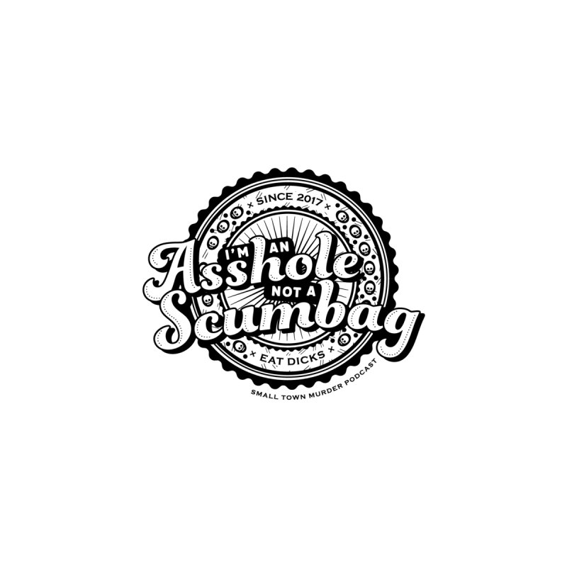 Asshole not a scumbag Men's T-Shirt by True Crime Comedy Team Shop