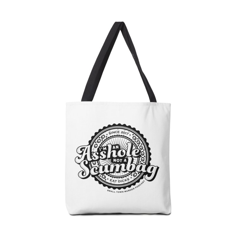 Asshole not a scumbag Accessories Tote Bag Bag by True Crime Comedy Team Shop