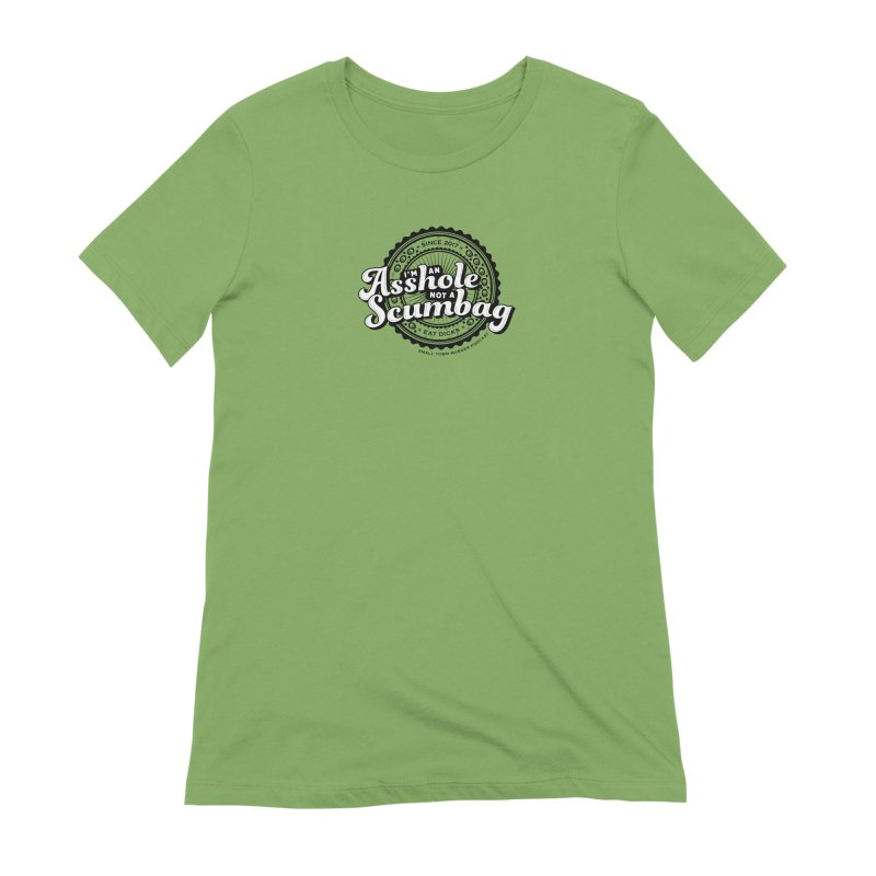 Asshole not a scumbag Women's Extra Soft T-Shirt by True Crime Comedy Team Shop
