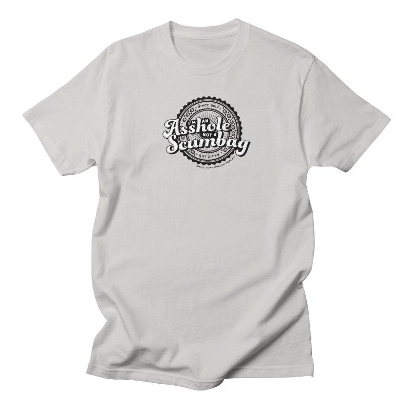 Asshole not a scumbag Men's Regular T-Shirt by True Crime Comedy Team Shop