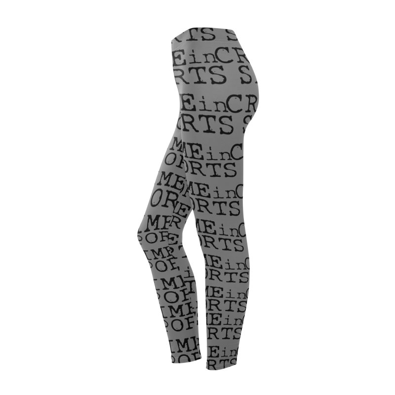Crime in Sports Leggings Women's Bottoms by True Crime Comedy Team Shop