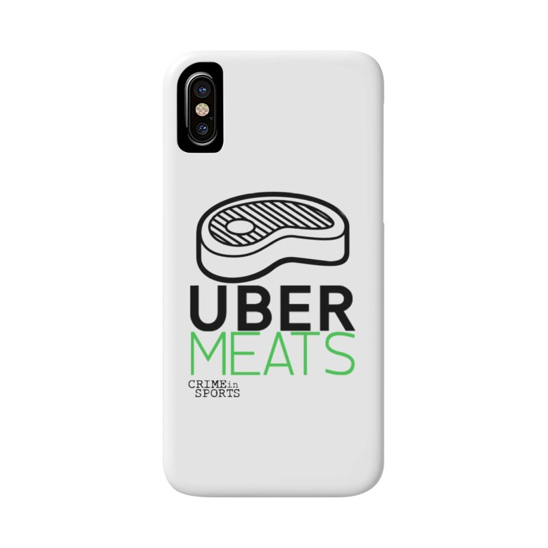 uber meats Accessories Phone Case by True Crime Comedy Team Shop
