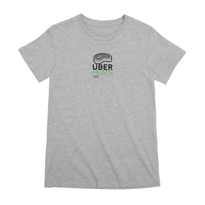 uber meats Women's Premium T-Shirt by True Crime Comedy Team Shop