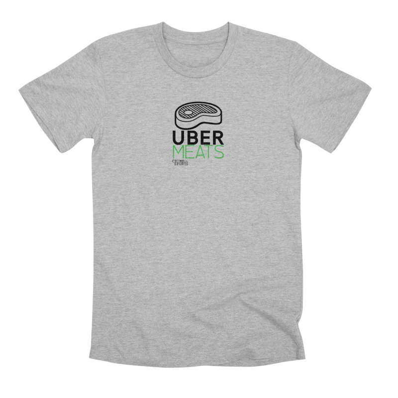 uber meats Men's Premium T-Shirt by True Crime Comedy Team Shop