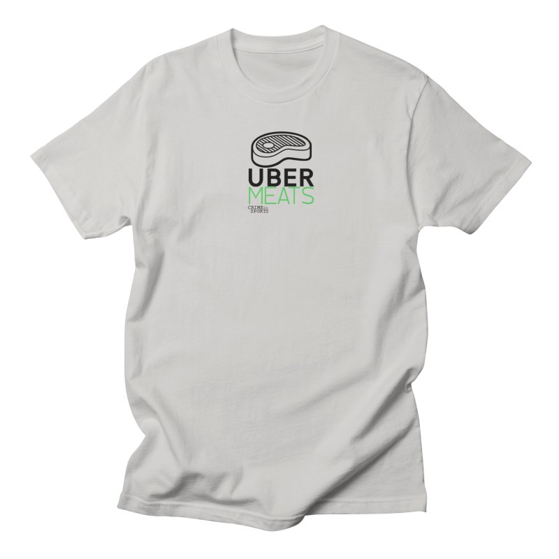 uber meats Men's T-Shirt by True Crime Comedy Team Shop