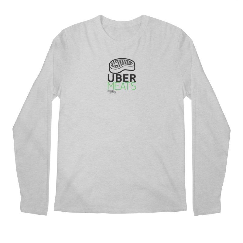 uber meats Men's Regular Longsleeve T-Shirt by True Crime Comedy Team Shop
