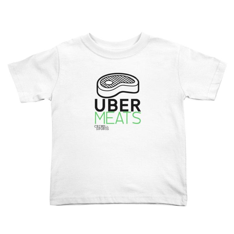 uber meats Kids Toddler T-Shirt by True Crime Comedy Team Shop