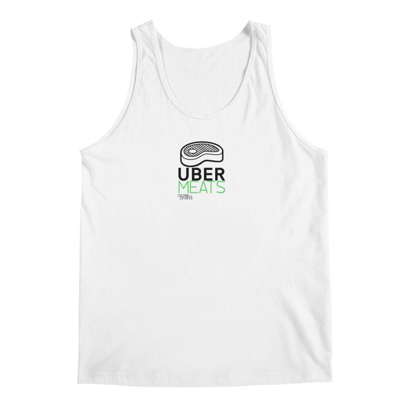 uber meats Men's Regular Tank by True Crime Comedy Team Shop