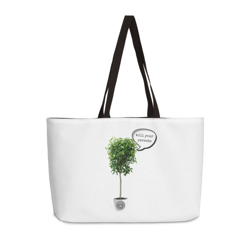 Murder Ficus Accessories Weekender Bag Bag by True Crime Comedy Team Shop