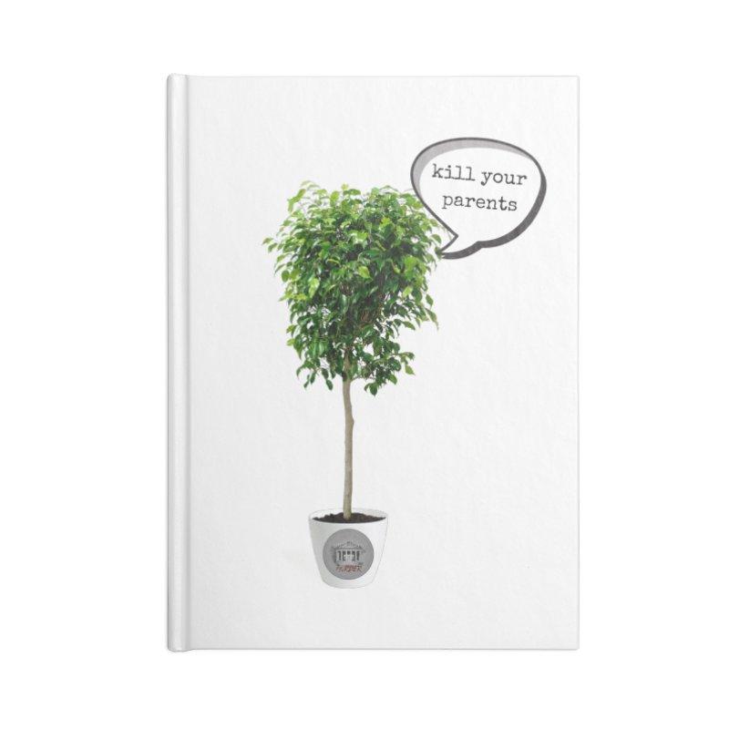 Murder Ficus Accessories Blank Journal Notebook by True Crime Comedy Team Shop