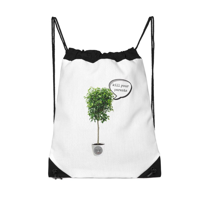 Murder Ficus Accessories Drawstring Bag Bag by True Crime Comedy Team Shop