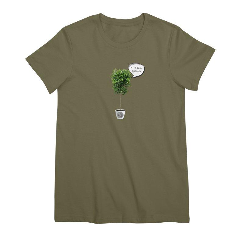 Murder Ficus Women's Premium T-Shirt by True Crime Comedy Team Shop