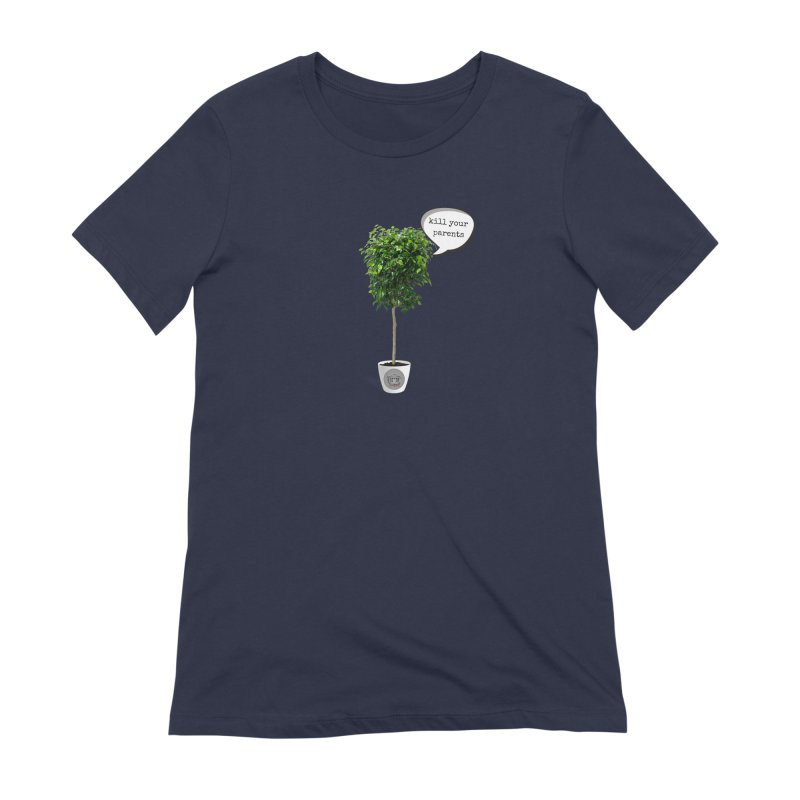 Murder Ficus Women's Extra Soft T-Shirt by True Crime Comedy Team Shop