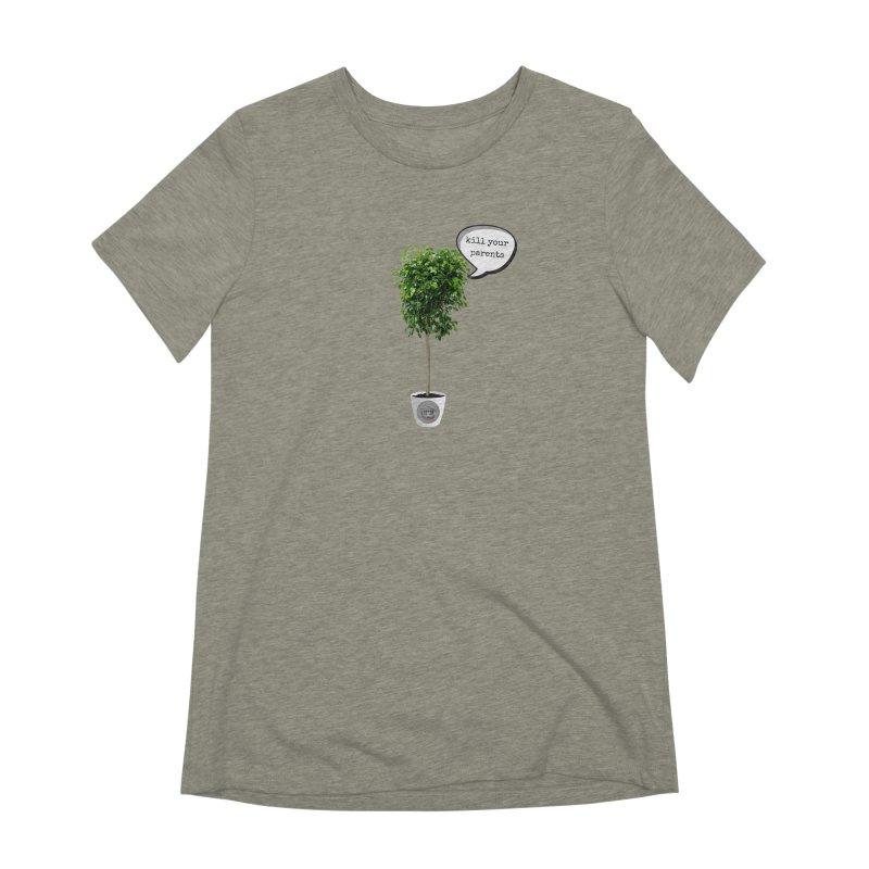 Murder Ficus Women's Extra Soft T-Shirt by True Crime Comedy Team Shop