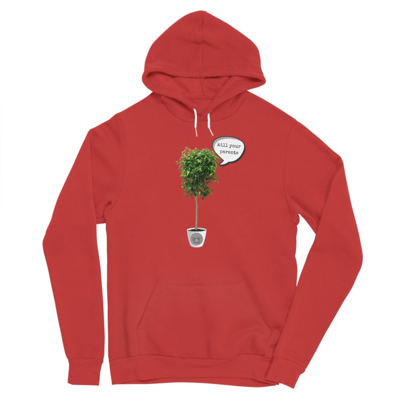 Murder Ficus Men's Sponge Fleece Pullover Hoody by True Crime Comedy Team Shop