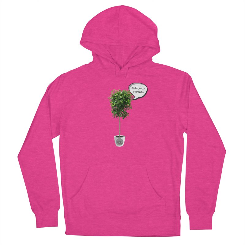 Murder Ficus Women's French Terry Pullover Hoody by True Crime Comedy Team Shop