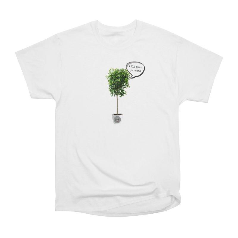 Murder Ficus Men's Heavyweight T-Shirt by True Crime Comedy Team Shop