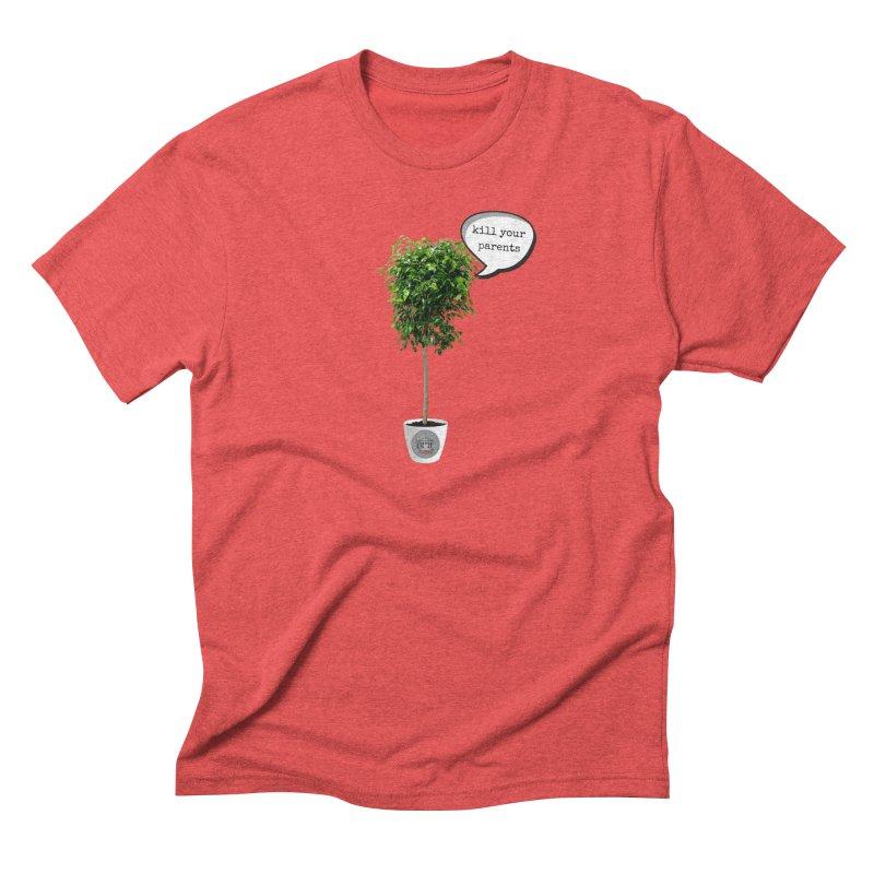 Murder Ficus Men's Triblend T-Shirt by True Crime Comedy Team Shop