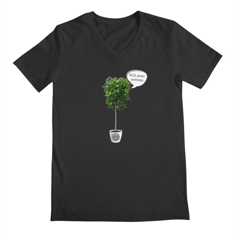 Murder Ficus Men's Regular V-Neck by True Crime Comedy Team Shop