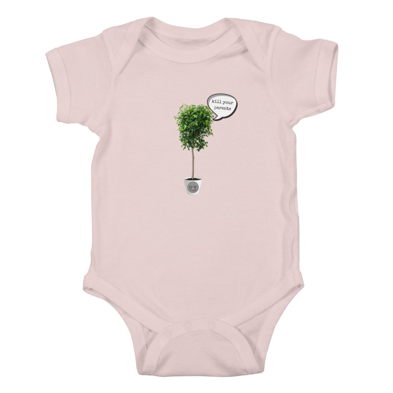 Murder Ficus Kids Baby Bodysuit by True Crime Comedy Team Shop