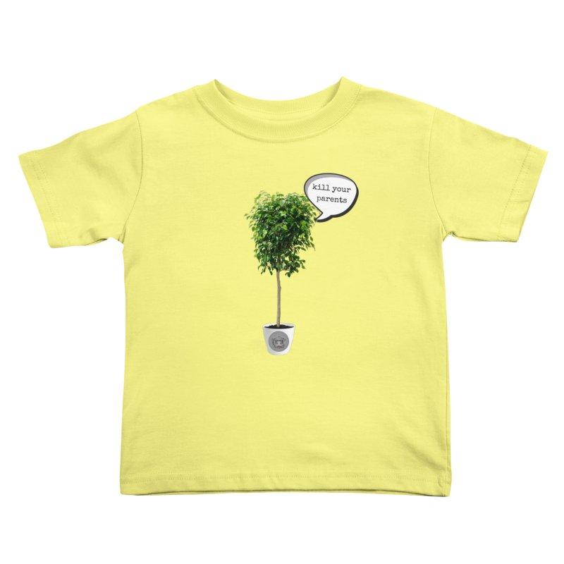 Murder Ficus Kids Toddler T-Shirt by True Crime Comedy Team Shop