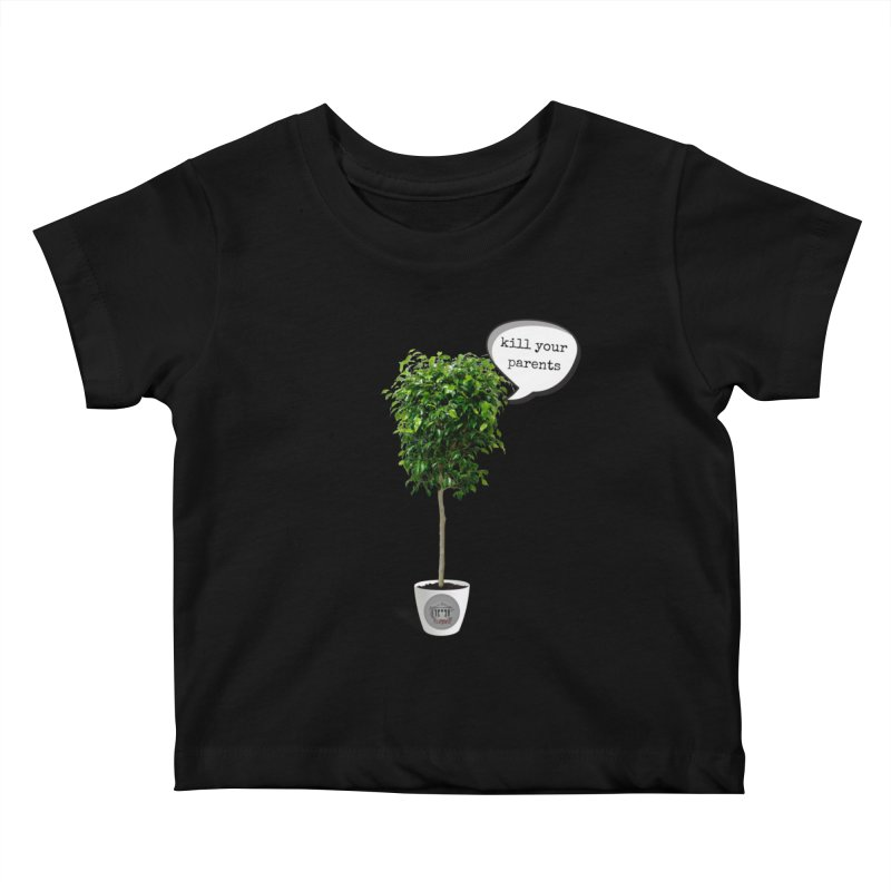 Murder Ficus Kids Baby T-Shirt by True Crime Comedy Team Shop