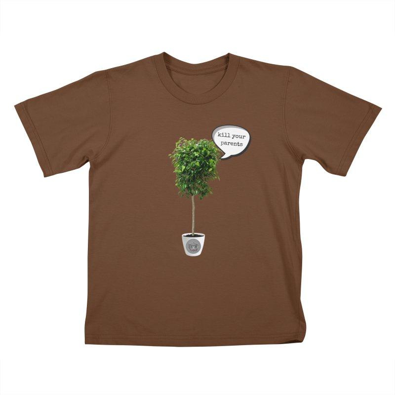 Murder Ficus Kids T-Shirt by True Crime Comedy Team Shop