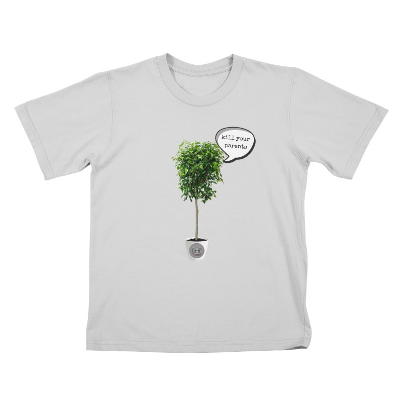 Murder Ficus Kids T-Shirt by True Crime Comedy Team Shop
