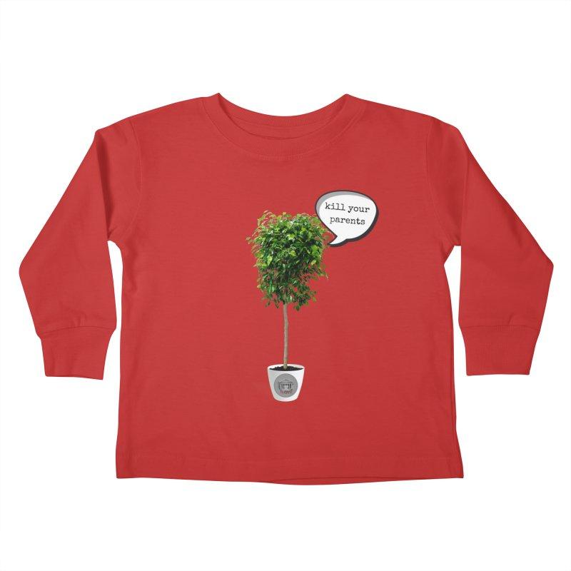 Murder Ficus Kids Toddler Longsleeve T-Shirt by True Crime Comedy Team Shop