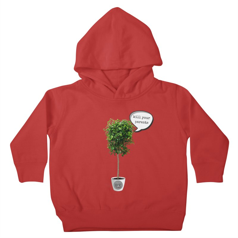 Murder Ficus Kids Toddler Pullover Hoody by True Crime Comedy Team Shop