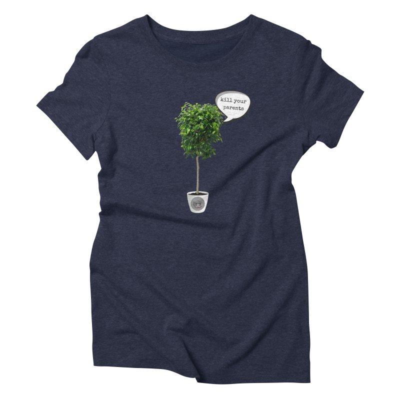 Murder Ficus Women's Triblend T-Shirt by True Crime Comedy Team Shop