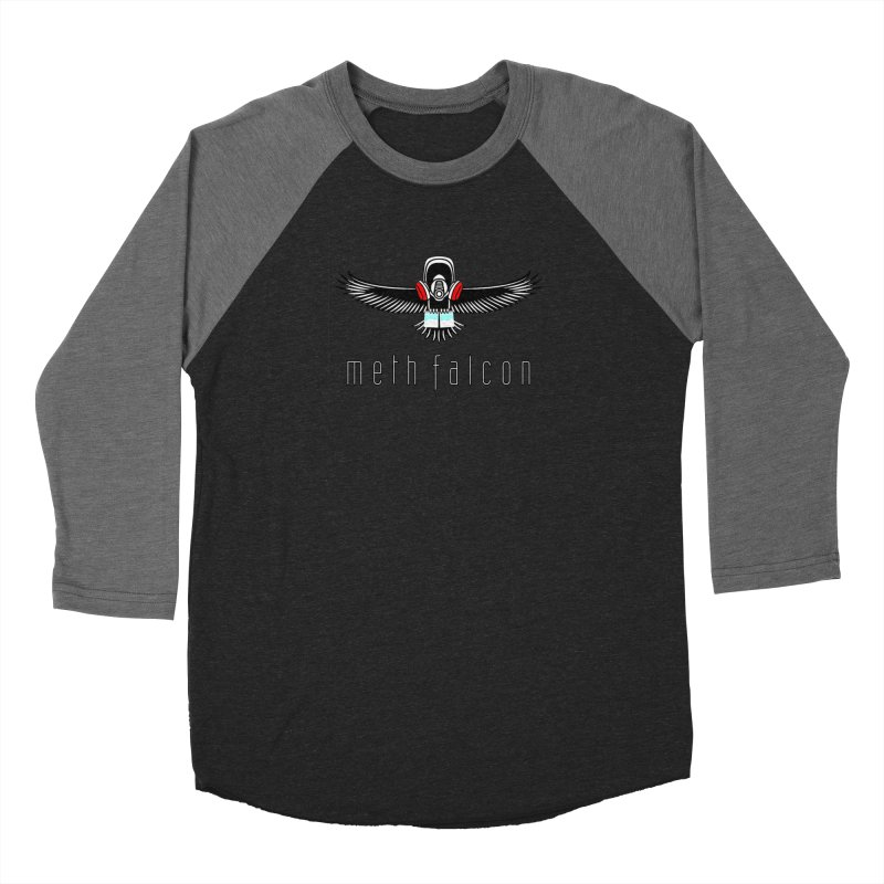 meth falcon Women's Baseball Triblend Longsleeve T-Shirt by True Crime Comedy Team Shop