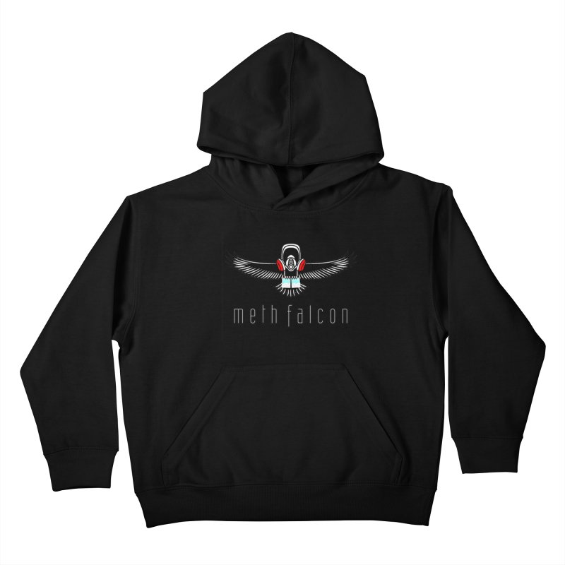 meth falcon Kids Pullover Hoody by True Crime Comedy Team Shop