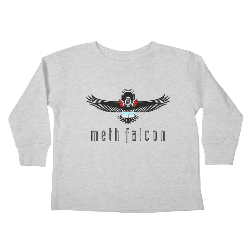 meth falcon Kids Toddler Longsleeve T-Shirt by True Crime Comedy Team Shop
